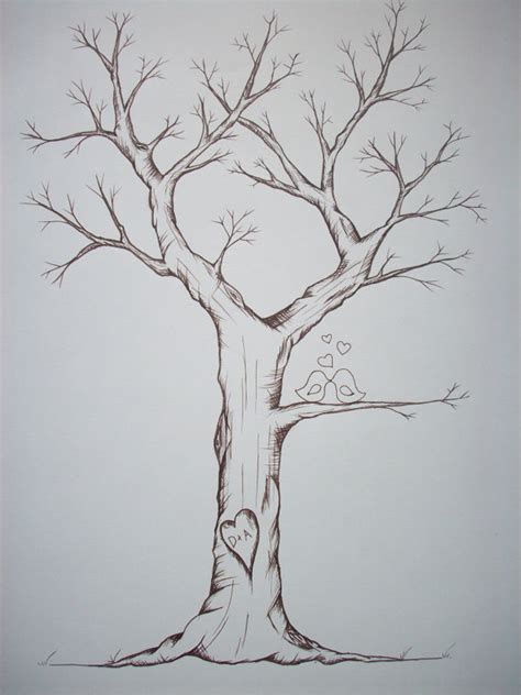 Artwork Proof Template by Items Similar To Fingerprint Trees Hand Drawn With