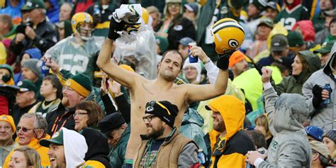green bay packers fans the 13 people you meet at every sporting event whiskey riff
