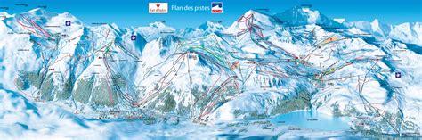 Buying An Apartment tignes ski amp snowboard piste map