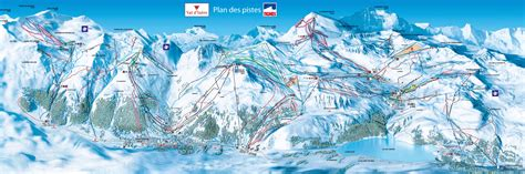 Tignes Ski & Snowboard Piste Map