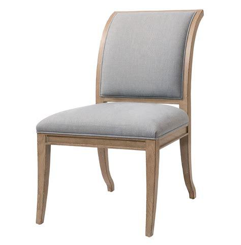 Isabelle Pavilion Regency Light Grey Blue Dining Side Chairs Light Grey Dining Chairs