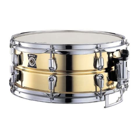 Snare Drum 14inch yamaha metal snare series sd 4355 14 inch snare drum brass smaononaeraa