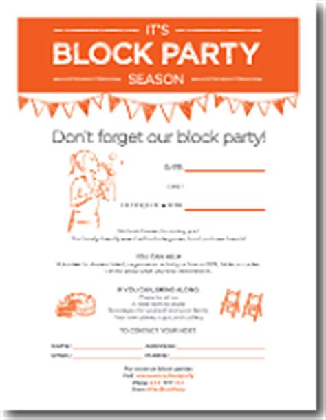 Invitation Letter Neighborhood Block Invitation Template Gangcraft Net