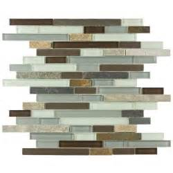 Home Depot Kitchen Tile Backsplash Merola Tile Tessera Piano Tundra 11 3 4 In X 12 In X 8
