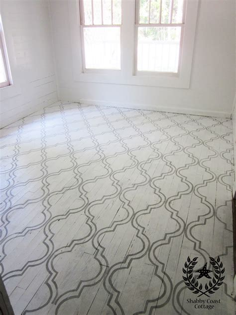 Painted Floors by Using Sloan Chalk Paint On Floors Driven By Decor