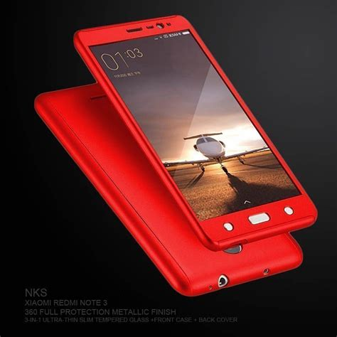 Protective Samsung Redmi Oppo nks 174 xiaomi redmi note 4 360 protection tempered