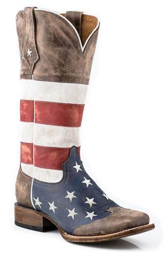 pungo ridge roper square toe distressed american