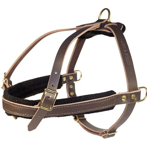 sleigh harness tracking pulling leather harness for all breeds h5 1021 leather sled harness