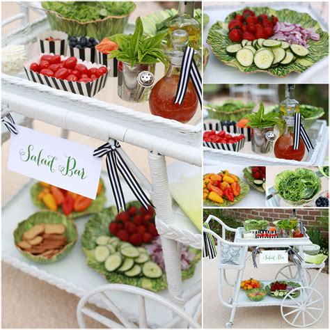 Decorating A Buffet Table Salad Bar Ideas Www Pixshark Com Images Galleries With