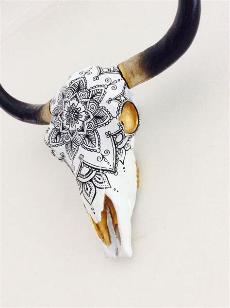 Bull Skull Decor by Best 25 Cow Skull Decor Ideas On Deer Skull