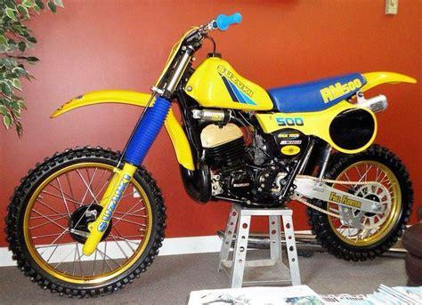 Rm500 Suzuki 1983 Suzuki Rm500 Race Ready Vintage Dirt Bikes And