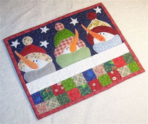 snowman mug rug pattern 1000 images about snowman on snowball pinwheels and wall hanging quilts