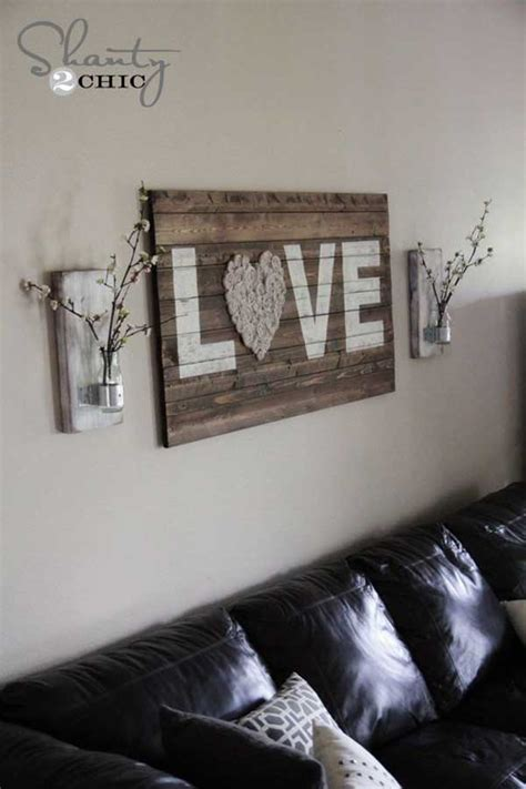 I Love Diy Home Decorating 20 Recycled Pallet Wall Art Ideas For Enhancing Your Interior
