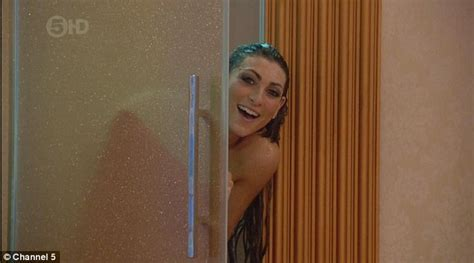 bathroom naked video naked luisa zissman simulates sex in shower with dappy in