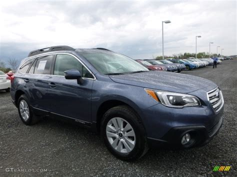 subaru outback 2016 blue 2016 twilight blue metallic subaru outback 2 5i premium