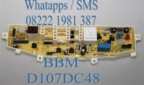 Modul Pcb Mesin Cuci Samsung Wa70m4eec jual modul pcb mesin cuci samsung wa seri top loading servicesparepart