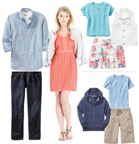 picture outfit ideas 5 spring family portrait outfit ideas from old navy