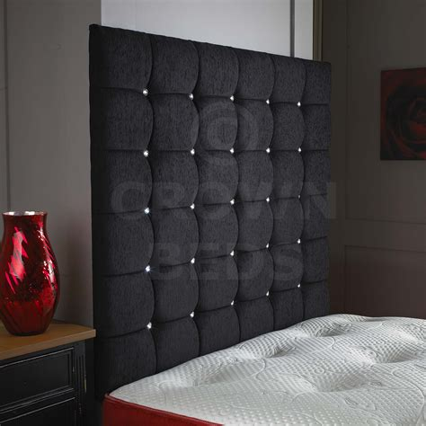 black suede headboard beds 24hr