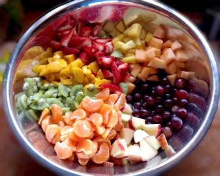 3 fruits to america fruit salad with 1 2 3 dressing recipe whats cooking america