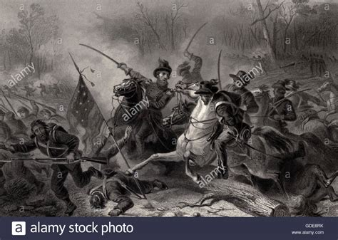 battle of shiloh battle of shiloh tennessee during the usa civil war stock