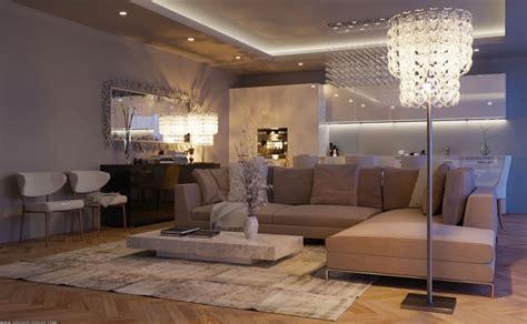 l shaped apartment луксозна всекидневна от eduard caliman