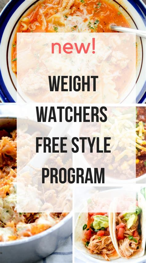 printable weight watchers recipes new weight watchers free style program recipe diaries