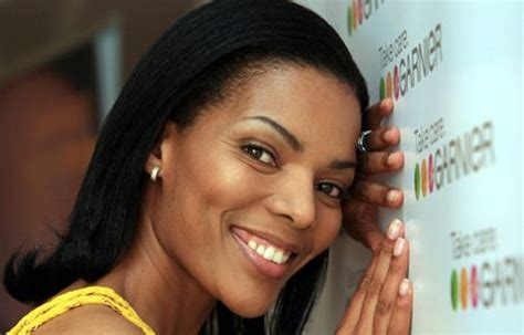 connie ferguson short hairstyles connie ferguson new face of garnier news tvsa