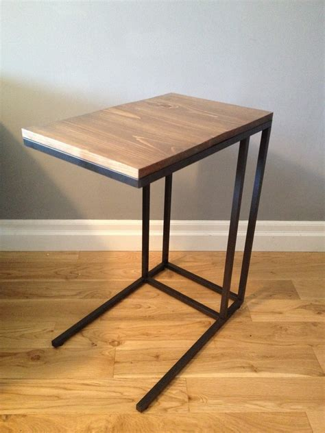 vittsjo laptop table to upscale side table ikea hackers