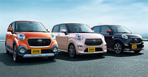 Toyota Japan Toyota Goes Retro With Pixis Kei Cars In Japan 50 Pics