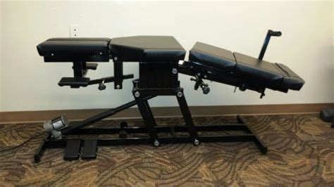 Chiropractic Table For Sale by New Rytex Sm 9000 Chiropractic Table For Sale Dotmed