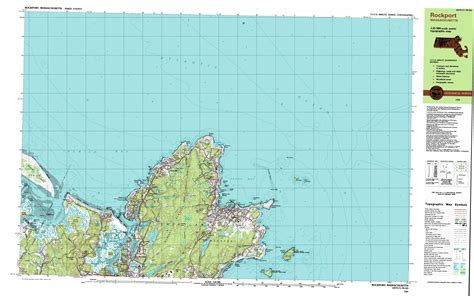 rockport map rockport topographic map ma usgs topo 42070f5