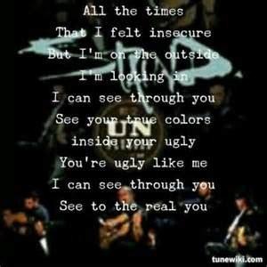 staind lyrics on korn lyrics shinedown lyrics