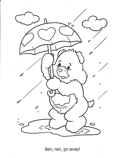 Free Printable Care Bear Coloring Pages For Kids Care Colouring Pages