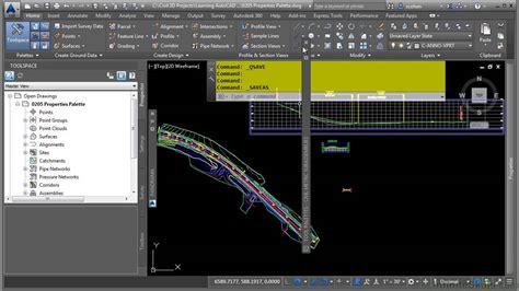 tutorial autocad civil 3d 2015 autocad civil 3d 2015 tutorial tool palettes youtube