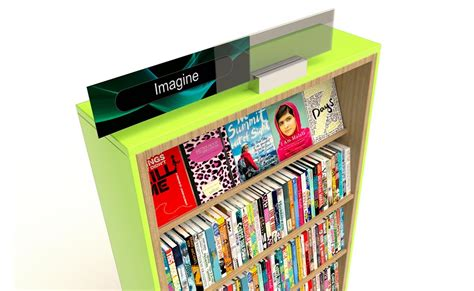 Shelf Signage by Library Shelving