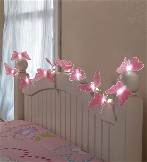 butterfly string lights for a night light in my little
