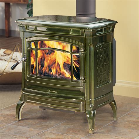 hearthstone shelburne cast iron wood stove fireplace