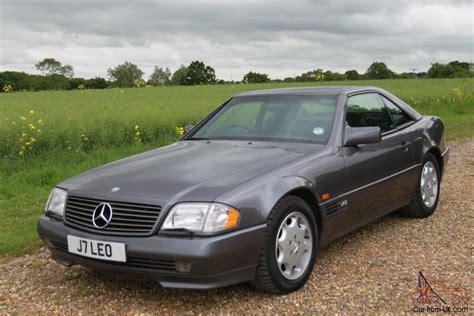 1995 mercedes benz sl600 v12 for sale 1995 mercedes sl600 auto grey