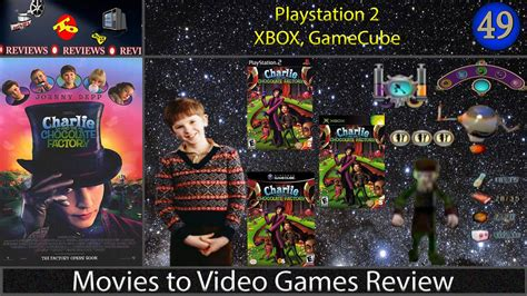 film gane video movies to video games review charlie and the chocolate