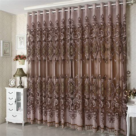 luxury purple curtains ᑐ2016 new arrival ready ready made luxury curtains for