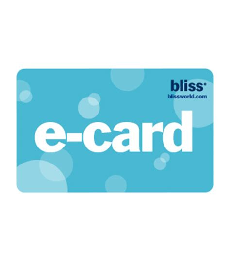 Bliss Spa Gift Card - bliss spa gift cards gift sets bliss products