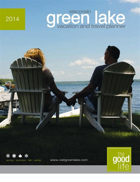 fishing boat rentals green lake wi 2014 green lake visitor s guide by scott zeinemann issuu