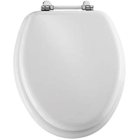 bemis elongated closed front toilet seat in white 1960pch