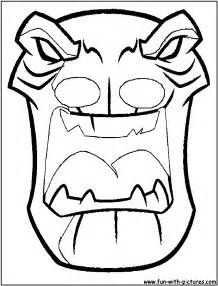 masks coloring tribal masks coloring pages