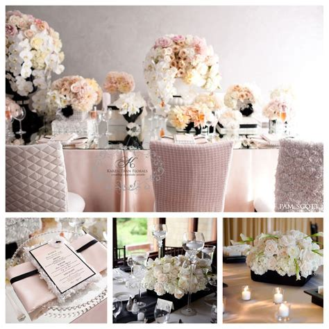 Blush Pink and Black Wedding   Blush and Pink Wedding