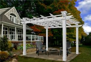 Vinyl Pergola by Outdoor Lighting Design For Pergolaoutdoor Lighting Design