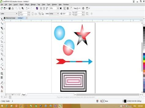 tutorial corel draw x5 for beginner coreldraw x8 tutorial 10 basic tips for beginners youtube