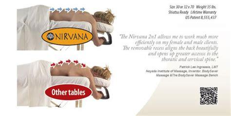 nirvana 2n1 table package nirvana 2n1 table breast comfort table