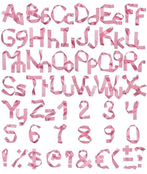 fashion ribbon font pixelpush design