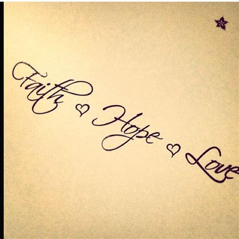 infinity tattoo grace faith hope and love tattoos faith hope love infinity